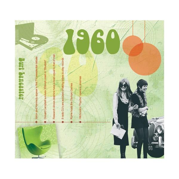 1960 CLASSIC YEARS CD CARD