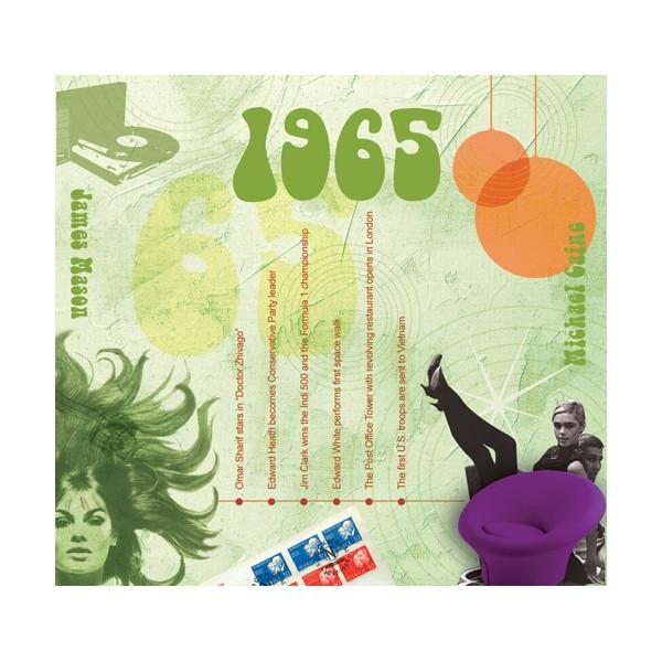 1965 CLASSIC YEARS CD CARD