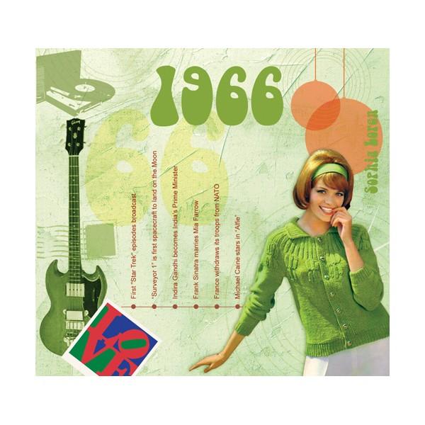 1966 CLASSIC YEARS CD CARD