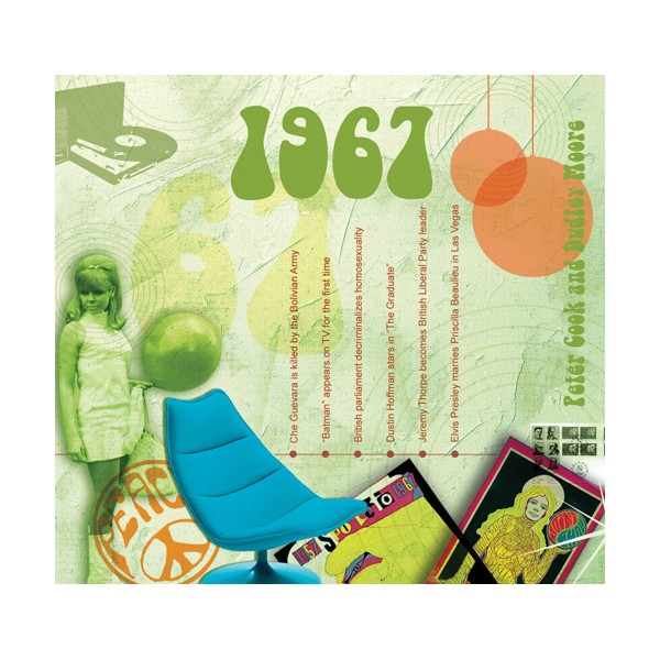 1967 CLASSIC YEARS CD CARD