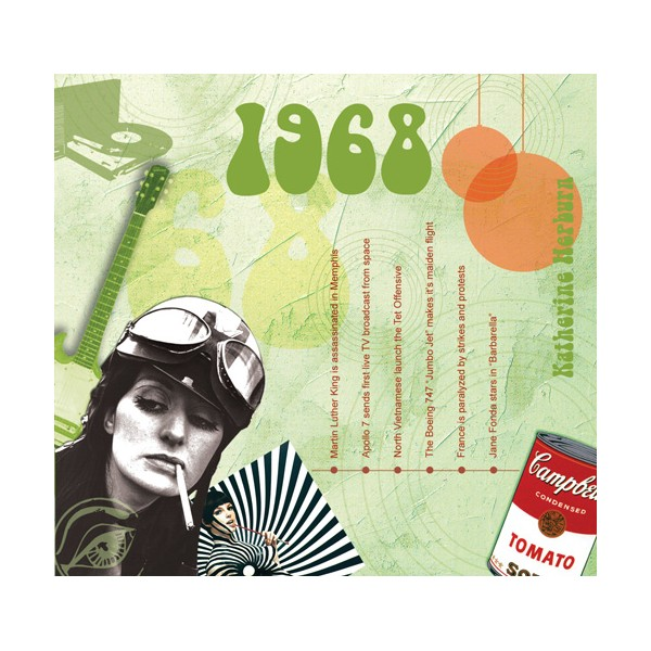 1968 CLASSIC YEARS CD CARD
