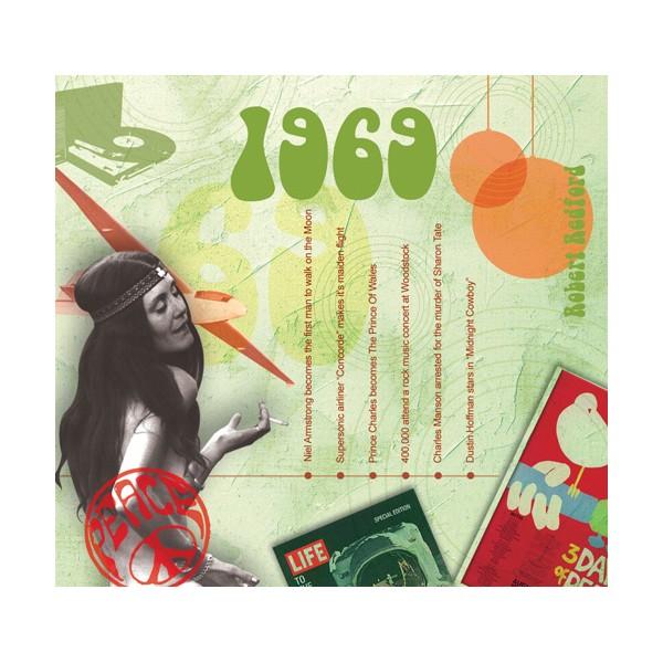 1969 CLASSIC YEARS CD CARD