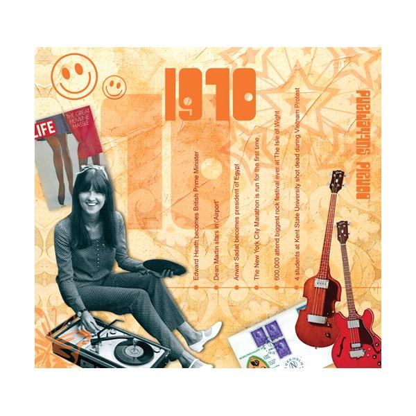 1970 CLASSIC YEARS CD CARD