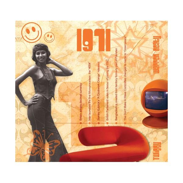 1971 CLASSIC YEARS CD CARD
