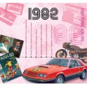 1982 CLASSIC YEARS CD CARD