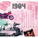 1984 CLASSIC YEARS CD CARD