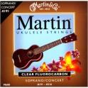 Martin M600 Soprano/Concert Ukulele String Set