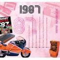 1987 CLASSIC YEARS CD CARD