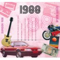 1988 CLASSIC YEARS CD CARD