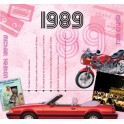 1989 CLASSIC YEARS CD CARD