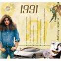 1991 CLASSIC YEARS CD CARD