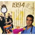 1994 CLASSIC YEARS CD CARD
