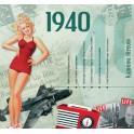 1940 CLASSIC YEARS CD CARD