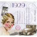 1929 CLASSIC YEARS CD CARD