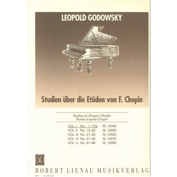 Godovsky, Leopold - 53 Studies on Chopins Etudes