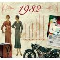 1932 CLASSIC YEARS CD CARD
