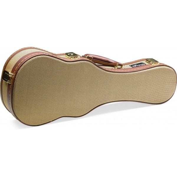 Stagg Gold Tweed Ukulele Cases