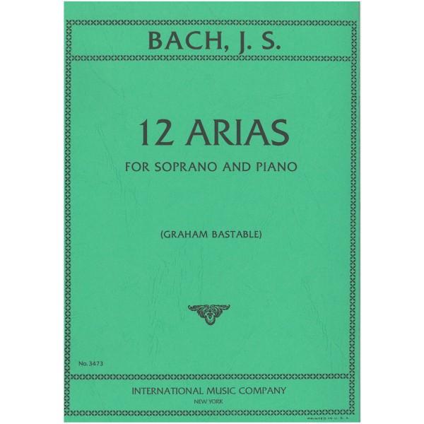 Bach, J S - 12 Arias