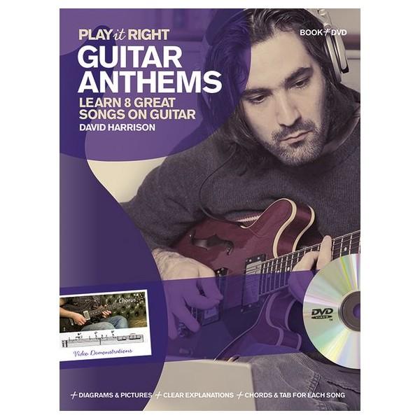 David Harrison: Play It Right - Guitar Anthems - Harrison, David (Author)