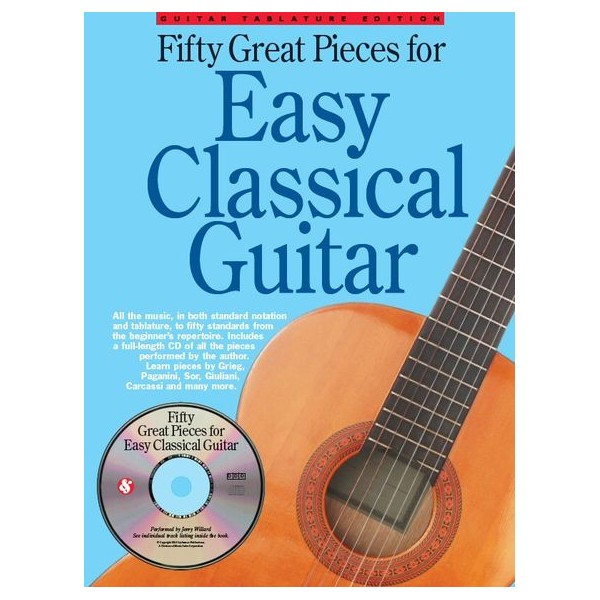50 Great Pieces For Easy Classical Guitar - Willard, Jerry (Arranger)