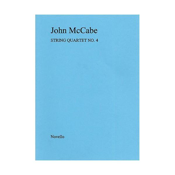 John McCabe: String Quartet No. 4 (Score) - McCabe, John (Artist)
