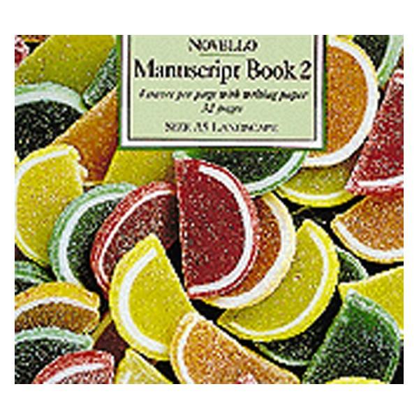 Novello Manuscript Book 2: A5 Landscape - Interleaved - 0