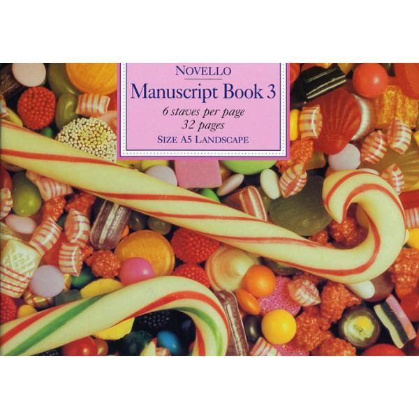 Novello Manuscript Book 3: A5 Landscape - 0