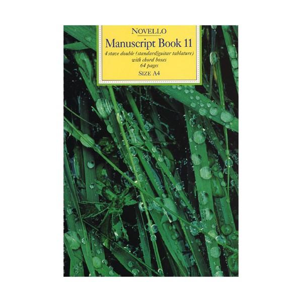 Novello Manuscript Book 11: A4 - 0