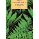 Novello Manuscript Book 15: A4 - 0