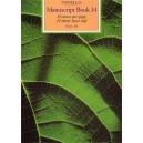 Novello Manuscript Book 14: A4 - 0