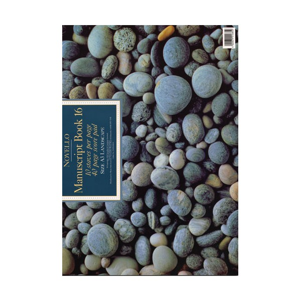 Novello Manuscript Book 16: A3 Landscape - 0