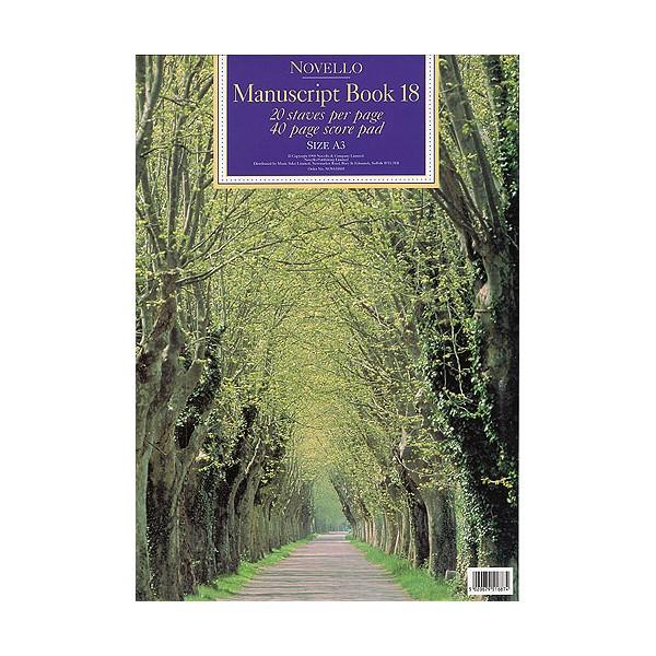 Novello Manuscript Book 18: A3 - 0