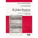 Bach, J S - St. John Passion (Vocal Score)