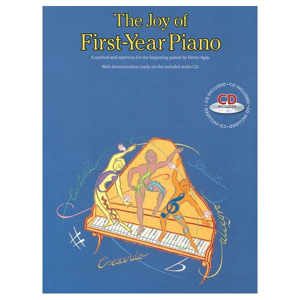 The Joy Of First-Year Piano (With CD) - Agay, Denes (Author)