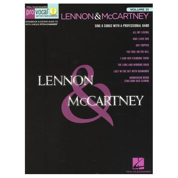 Pro Vocal Volume 25: Lennon & McCartney - Lennon, John (Composer)
