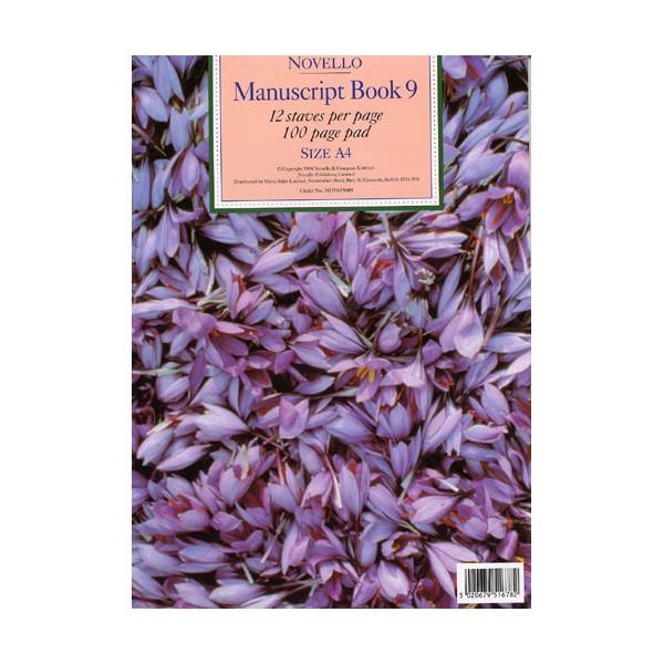 Novello Manuscript Book 9: A4 - 0