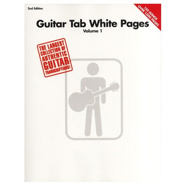 Guitar Tab White Pages - 2nd Edition -