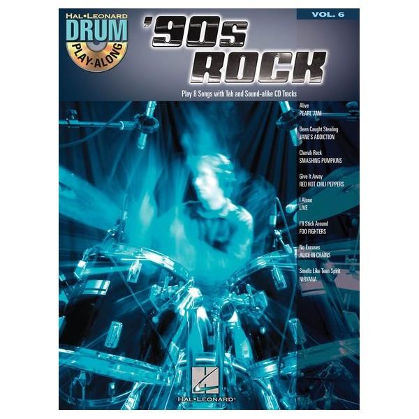 Drum Play-Along Volume 6: 90s Rock -