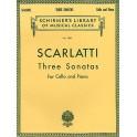 Scarlatti, Alessandro - Three Cello Sonatas