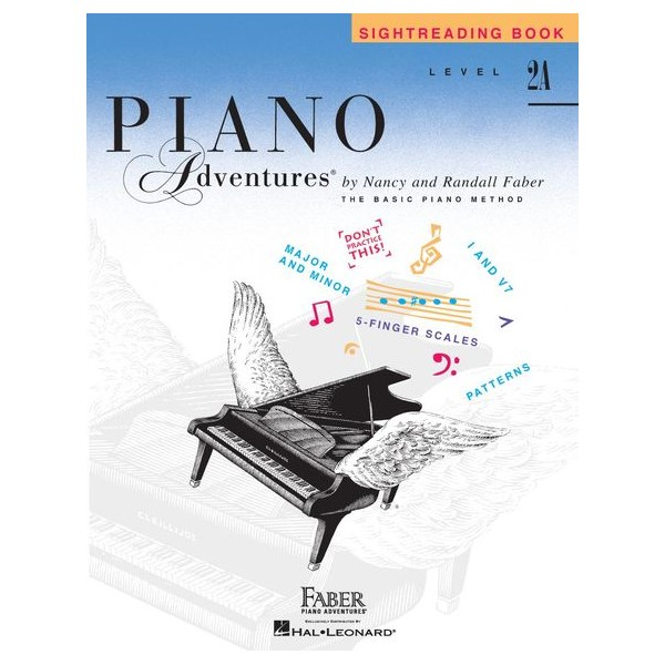 Piano Adventures: Sightreading Book - Level 2A - Faber, Nancy (Author)