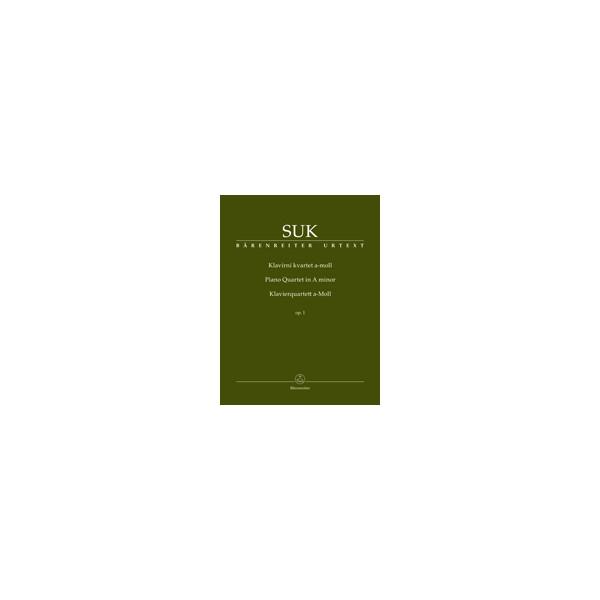 Suk, Josef - Piano Quartet in A minor