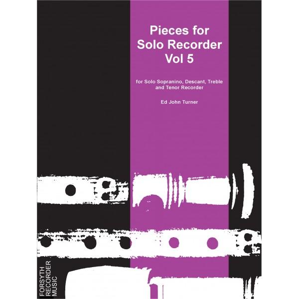 Pieces for Solo Recorder Vol. 5