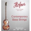 Hofner Contemporary Series Violin Bass Guitar String Set