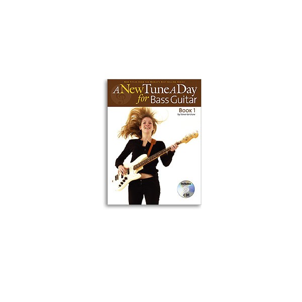 NEW Tune a Day for Bass Guitar Book One