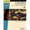 Frederic Chopin: Selected Preludes - Piano (Book And CD) - Chopin, Frederic (Composer)