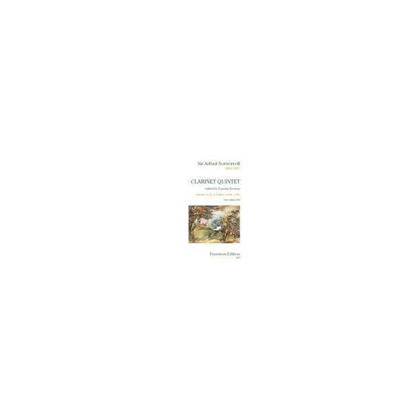 Somervell, Arthur - Clarinet Quintet