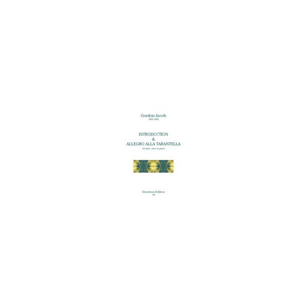 Jacob, Gordon - Introduction & Allegro alla Tarantella