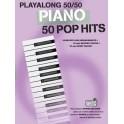 Playalong 50/50 Piano Pop Hits -