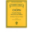 Frederic Chopin: Complete Preludes, Nocturnes And Waltzes (Updated Edition) - Chopin, Frederic (Composer)