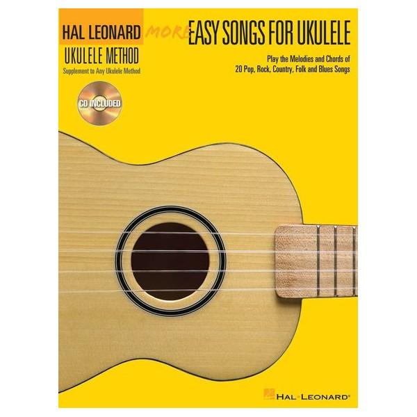 More Easy Songs For Ukulele: Book/CD -
